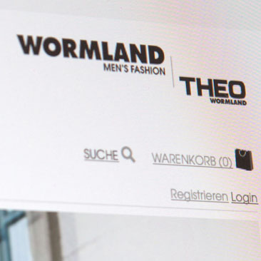 Webshop Launch - Theo Wormland